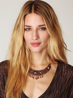 Vanessa Mooney Casbah Necklace at Free People Clothing Boutique