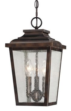 View the the great outdoors 72174 189 3 light lantern pendant from square 3 light hanging lantern ceiling mounted chain hung ceiling lights mozeypictures Choice Image