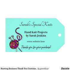 Knitting Business Thank You Customer Tags Knitting Yarn, Hand Knitting, Knitting Patterns, Crochet Patterns, Thank You Customers, Online Yarn Store, Business Thank You, Custom Ribbon, Old Newspaper