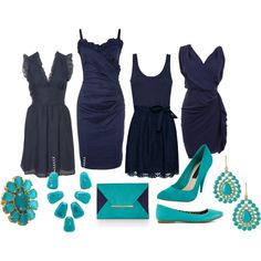 1000 images about navy on pinterest navy dress navy for What colour shoes with navy dress for wedding
