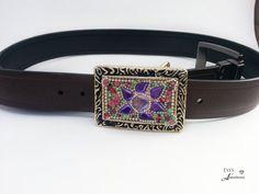 Rhinestone Belt Buckle Boho Teenager gift by EyesofAnastasia