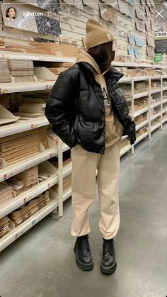 Edgy Outfits, Winter Fashion Outfits, Cute Casual Outfits, Pretty Outfits, Outfit Winter, Grunge Outfits, Tomboy Fashion, Streetwear Fashion, Look Vintage