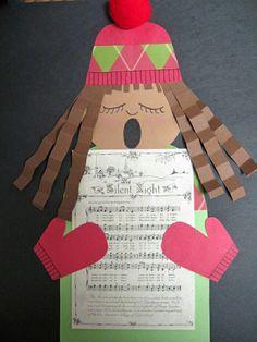 Christmas Carol kerst knutselen