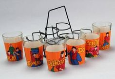 Handpainted Tea Set - Tapri Glasses Big B Antique Jewellery Online, Tea Glasses, Tea Cup Set, Diwali Decorations, Art N Craft, Safe Food, Home Furnishings, Cool Designs, Home Improvement