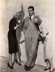 Una Merkel, Fred MacMurray and Carole Lombard