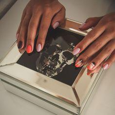 @nails.aguiral 👩🏻🎨 Nails, Instagram, Finger Nails, Ongles, Nail, Sns Nails, Nail Manicure