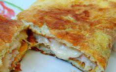 Receita de omelete recheada no micro para a fase cruzeiro PL dukan.