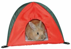 Мягкий домик для кролика