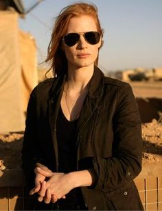 Jessica Chastain in Zero Dark Thirty - Great Performance, will never forget it