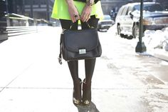 NYFW: neon during the winter | Nany's Klozet