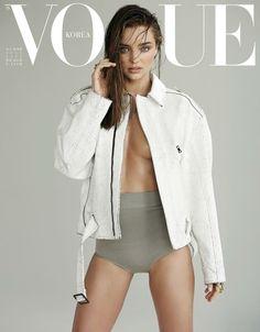 Über Fashion Marketing: Miranda Kerr na capa da Vogue Korea de Julho