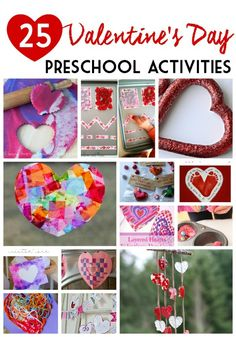 25 Valentine's Day Activities for Preschoolers