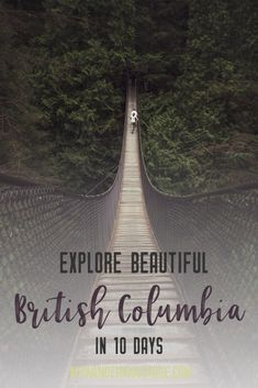 Get out and explore Beautiful British Columbia, Canada. From the coastal rainforests to the summit of mountains to cities like and there is so much to discover in Here's everything you need to see in 10 days in Brit Best Travel Guides, Travel Advice, Travel Tips, Travel Ideas, Montreal, Vancouver, Toronto, Canada Destinations, Road Trip