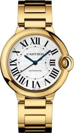 #Cartier Ballon Bleu De Cartier #Unisex Yellow Gold #Watch
