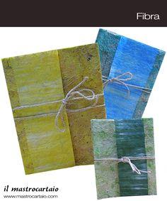 Il mastrocartaio Album.. Per la collezione Fibra album realizzati a mano con l'utilizzo della carta, disponibili in vari colori!! www.mastrocartaio.com