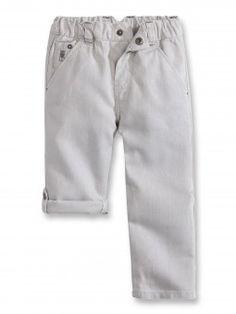 Pantalon lin/coton modulable
