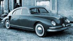 Isotta Fraschini Tipo Monterosa by Zagato, 1947 Maserati, Ferrari, Fiat 500, Vintage Cars, Antique Cars, Automobile, Strange Cars, Ac Schnitzer, Hispano Suiza