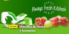 Tienda online productos Novedosos e Innovadores: Productos Always Fresh Kitchen: Cortadoras, Pelado...
