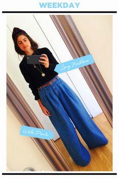 WEEKDAY STYLE : トレンドのバギーデニム、どう着こなす? | FASHION | ファッション | VOGUE GIRL