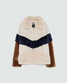 Image 8 of FAUX FUR JACKET from Zara