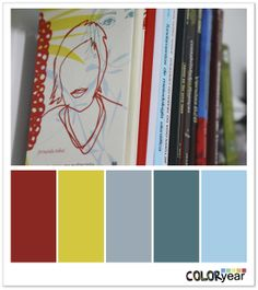 Books, Coloryear, Colors
