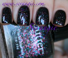 Butter London nail polish: The Black Night