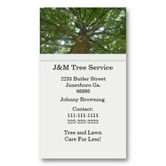 tree business card business card design business cards card designs texts lipsense - Tree Service Business Cards