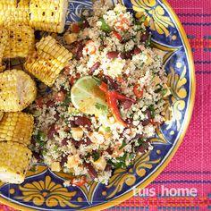 Tuis Meksikaanse-koeskoesslaai-resep