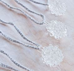 Glass Cluster Ball Necklace by Urban Revisions