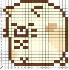 Perler Beads, Hama Beads Kawaii, Perler Bead Art, Perler Bead Templates, Pearler Bead Patterns, Fantasy Cross Stitch, Hama Beads Design, Minecraft Pixel Art, Bead Crafts