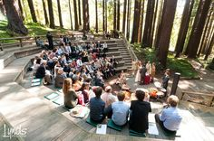 This is a fabulous place for a wedding-the ampitheater at the UC Botanical Garden in Berkeley CA. Outdoor Classroom, Outdoor School, Outdoor Learning, Outdoor Play, Landscape Architecture, Landscape Design, Minecraft City Buildings, Open Air Theater, Outside Activities