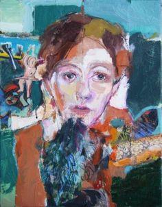 """Saatchi Art Artist Fotini Hamidieli; Painting, """"the angel"""" #art"""