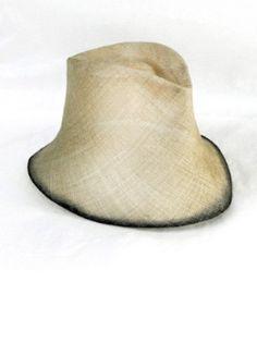 Reinhard Plank Contadino Straw Hat - Natural w/black
