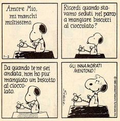 Snoopy in love Snoopy Comics, Funny Comics, Four Letter Words, Peanuts Snoopy, Calvin And Hobbes, More Than Words, Melancholy, My Mood, Insta Photo