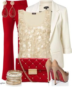Create your own holiday style with these festive Christmas outfit ideas.: Christmas Glam Fashion