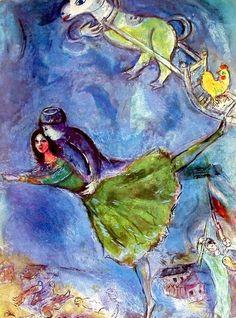 Marc Chagall 1887-1985 | cubista, simbolista e surrealista pintor Fauve