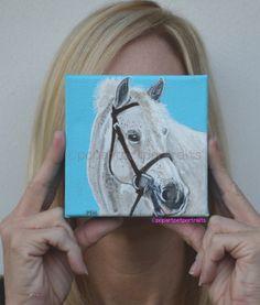#Custom #Horse #pet #Portrait #handmade #Pet #Portrait by PopArtPetPortraits