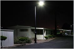 Solar panels on street lights, a great solution to bringing that energy home!