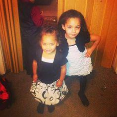Ciara and Sa'niya