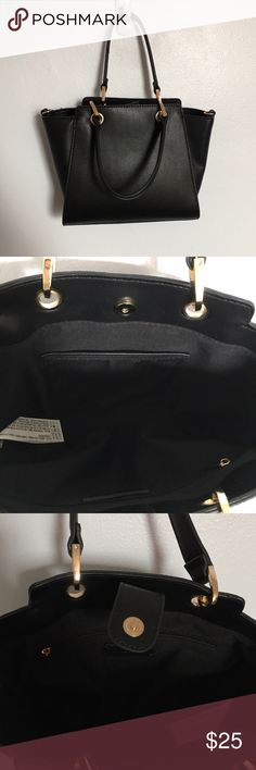 NWT Small Faux Leather Tote This is brand new with tags! It's small but can hold all of the essentials. Super cute! Forever 21 Bags Totes