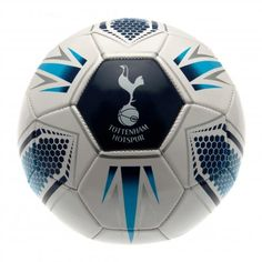 TOTTENHAM HOTSPUR FC White and Red Starburst Synthetic Football. Size 5 with 26 panels. Official Licensed Tottenham Hotspur FC gift. PRICE INCLUDES DELIVERY