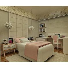 #mulpix Projeto que realizamos para um casal de Santos, SP. Neste quarto…