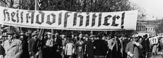 Viennese Nazis celebrate Hitler's arrival in Austria with a banner reading 'Heil Adolf Hitler!' in March 1938. Austria bans 'hidden' neo-Nazi codes on car number plates Austria is cracking down on personalised number plates used by neo-Nazis, by banning lesser-known codes with hidden far-right symbolism. Letter combinations such as HJ or NS - denoting Hitler Youth and National Socialism - have long been prohibited on personalised plates in Austria. Now transport officials have published a…