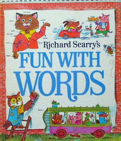 Richard Scarry's FUN WITH WORDS   http://twin-rabbit.com/?pid=85026969