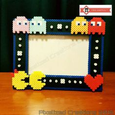 Pac-Man & Ms Pac-Man 8-Bit Arcade Game 4x6 Frame featuring
