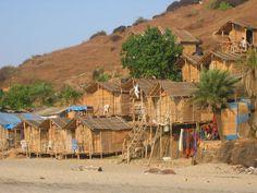Arambol beach (Goa, India)