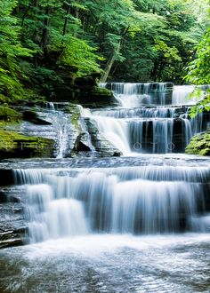 Buttermilk Falls, New York