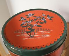 Old Cherrydale Farms Mints Tin by lookonmytreasures on Etsy