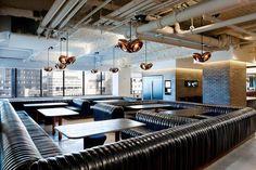 Office I Lounge I Hotel I Furniture I McCann Office I Design Research Studio I Void Light Lighting by Tom Dixon