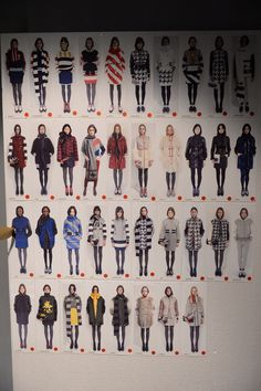 Fay Fall - Winter 2014/15 Fashion Show: a glimpse behind the scenes.